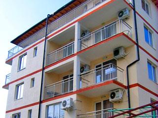Вила Мая-Апартаменти Катрафилови, курортна зона Делфин, Слънчев бряг