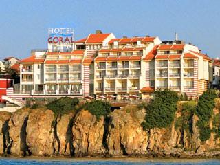 """Хотел Корал, ул. """"Лазурен бряг"""" 5, Созопол"""